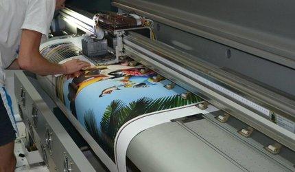 Что такое интерьерная печать | То же самое, что широкоформатная?